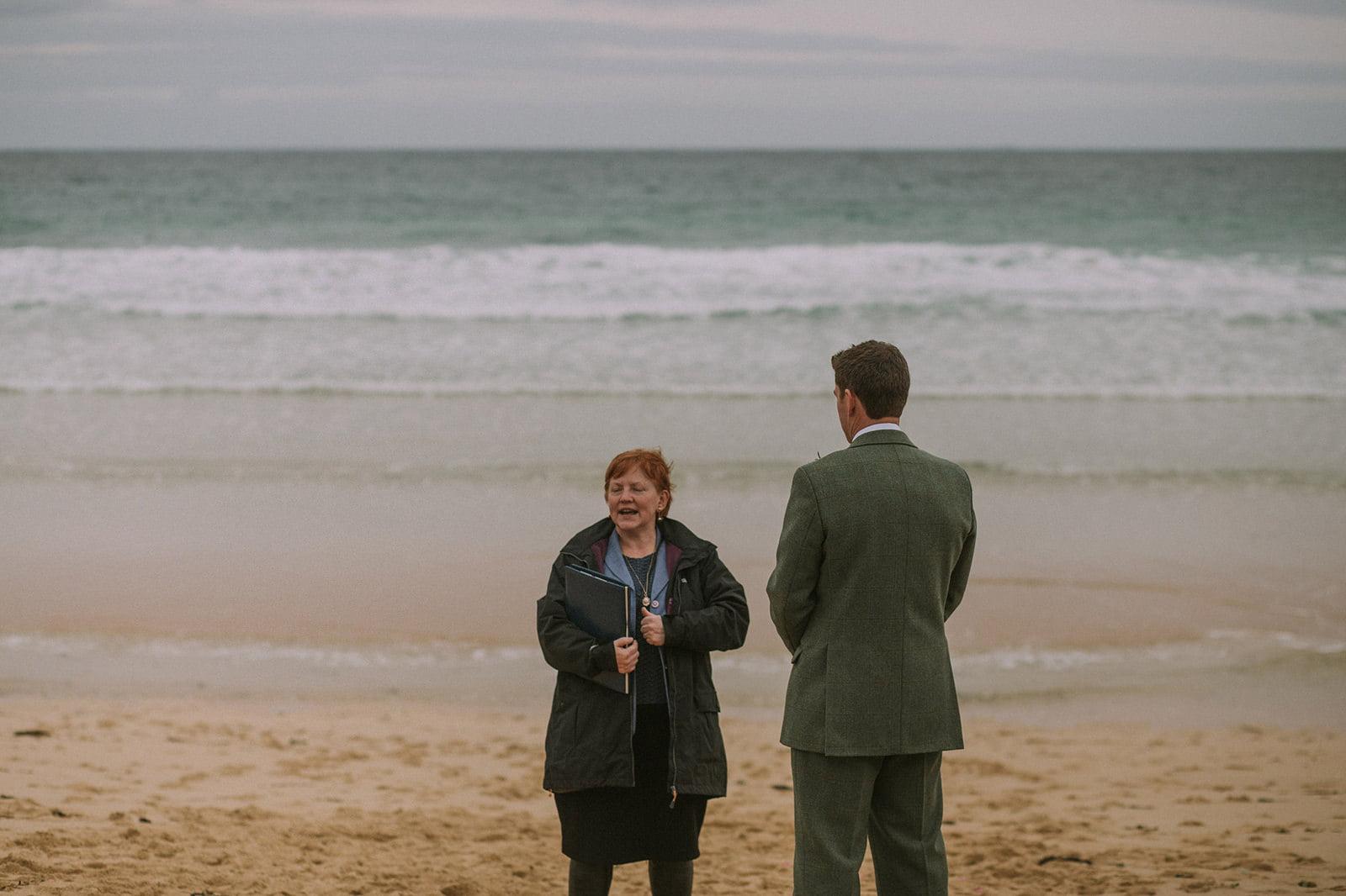 isle of harris beach wedding