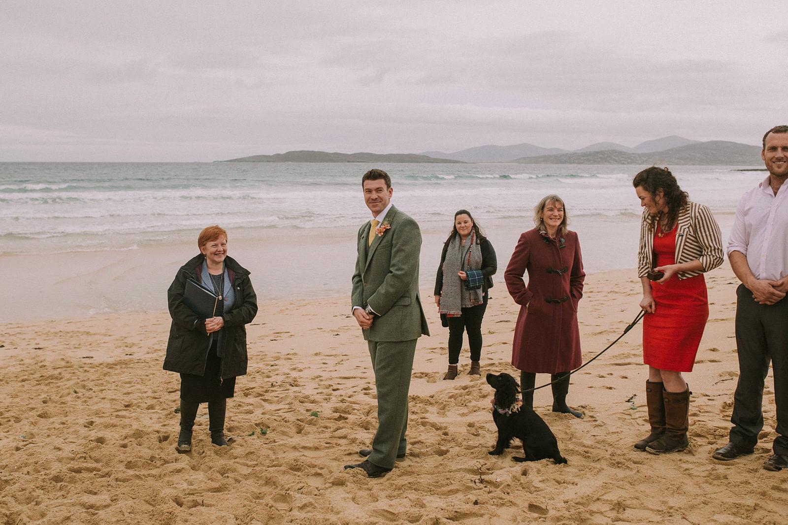 scarista beach wedding photography