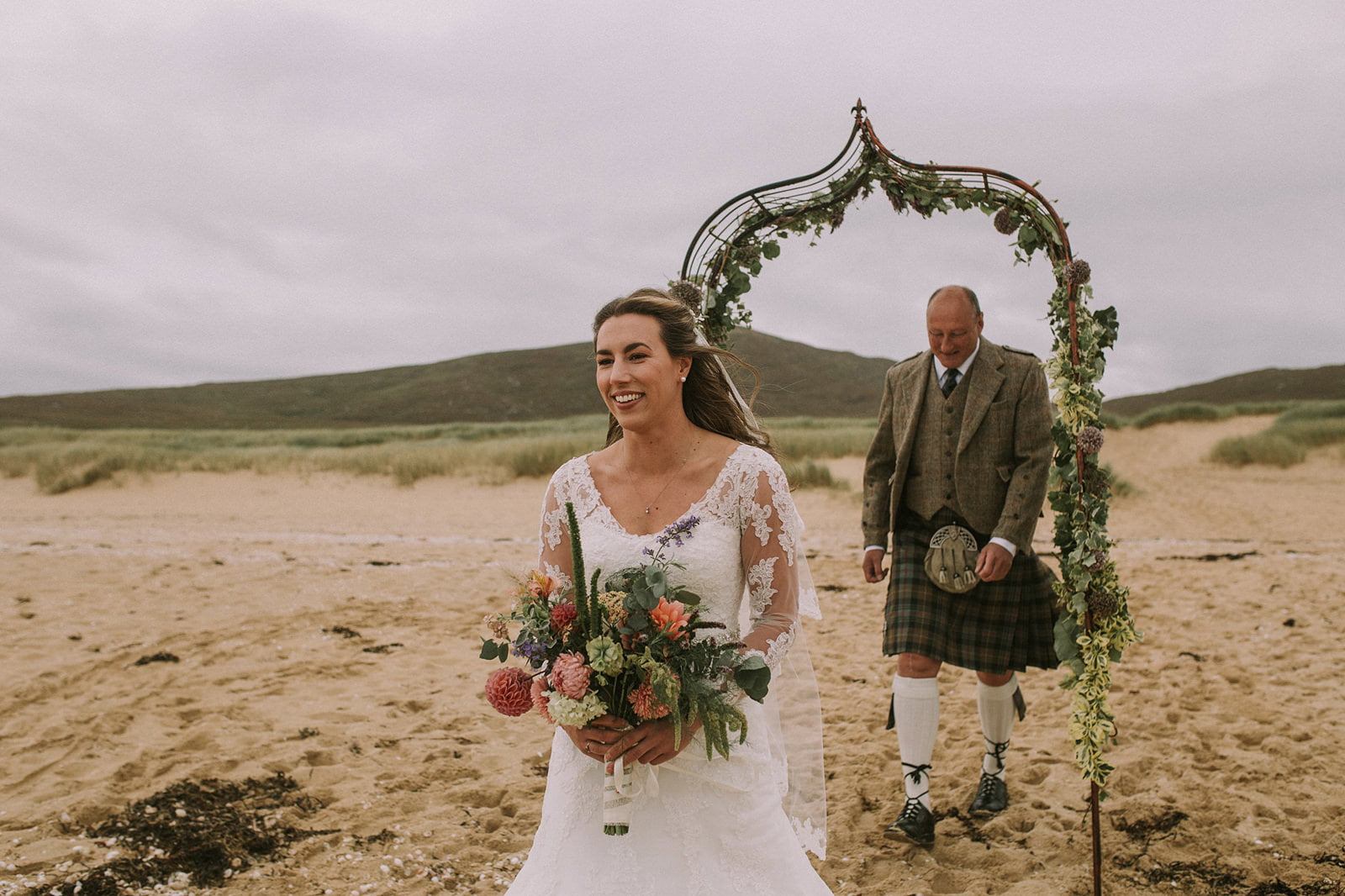rustic beach wedding photography inspiration