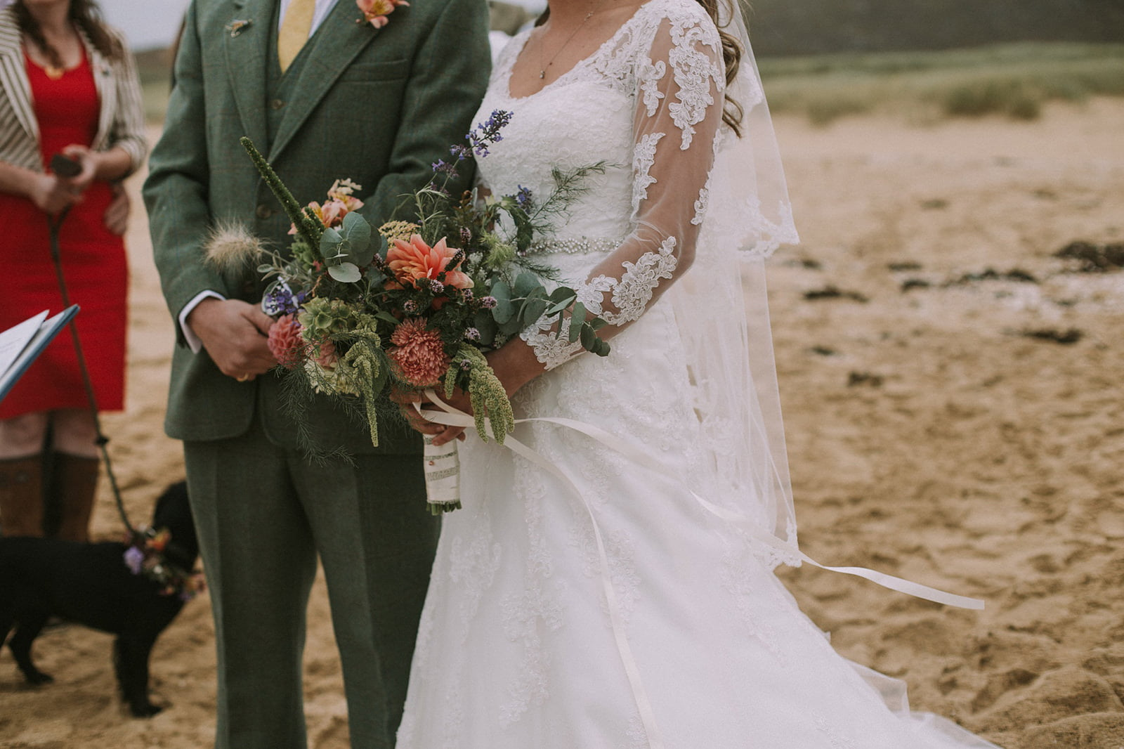 rustic wedding isle of harris