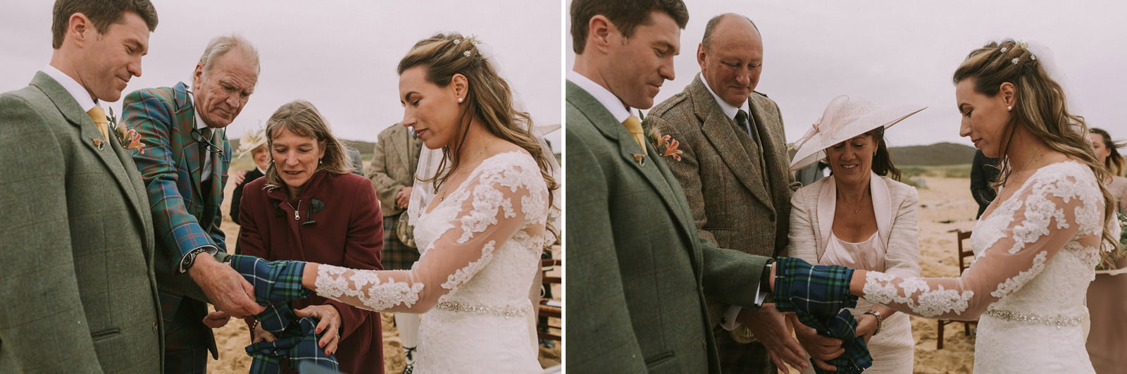 handfasting isle of harris wedding