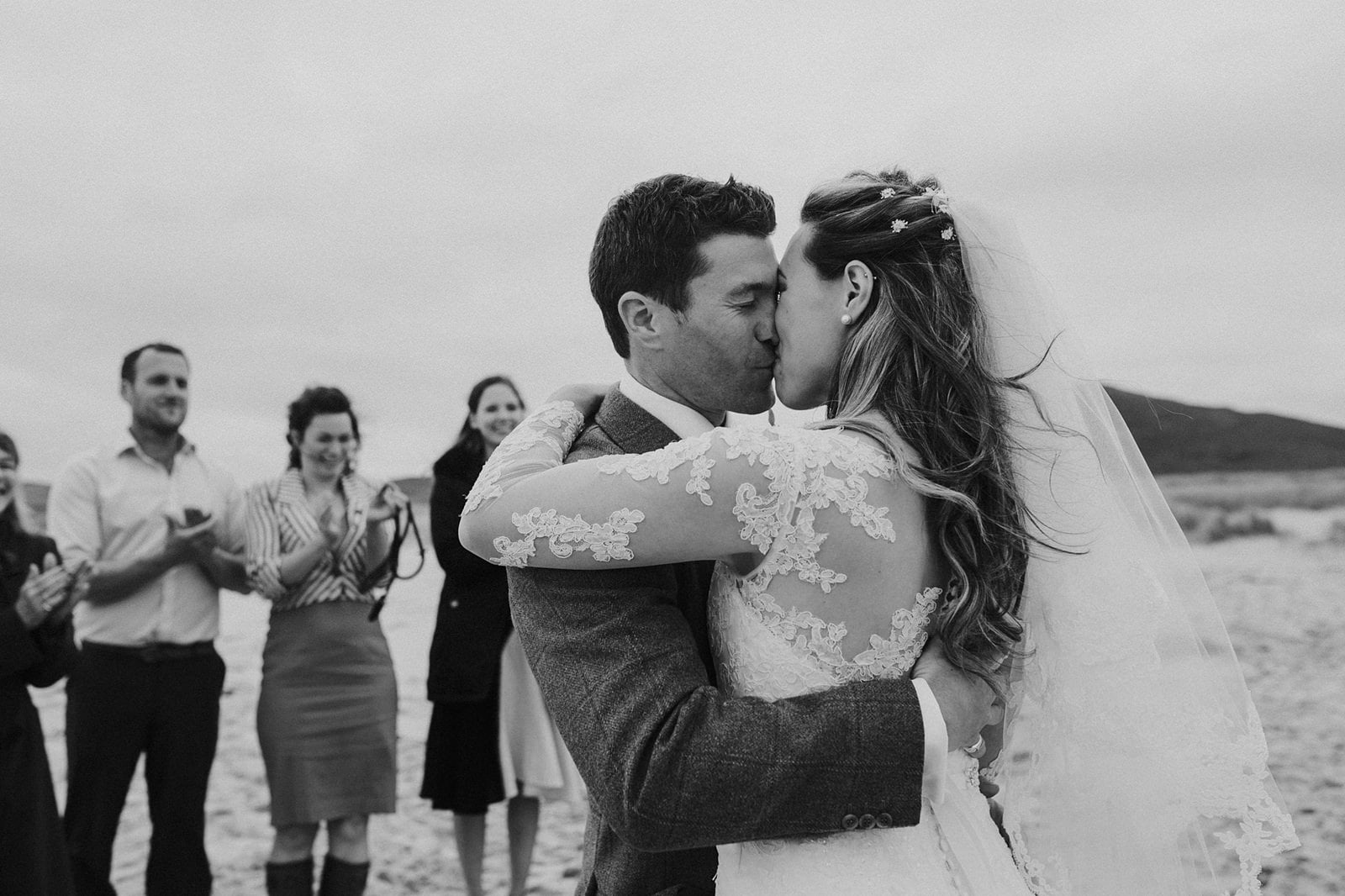 romantic outer hebrides wedding photography