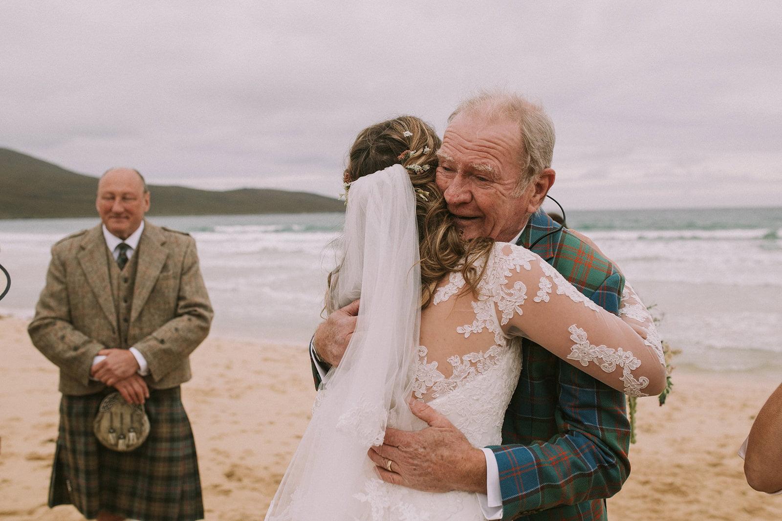 natural outer hebrides wedding