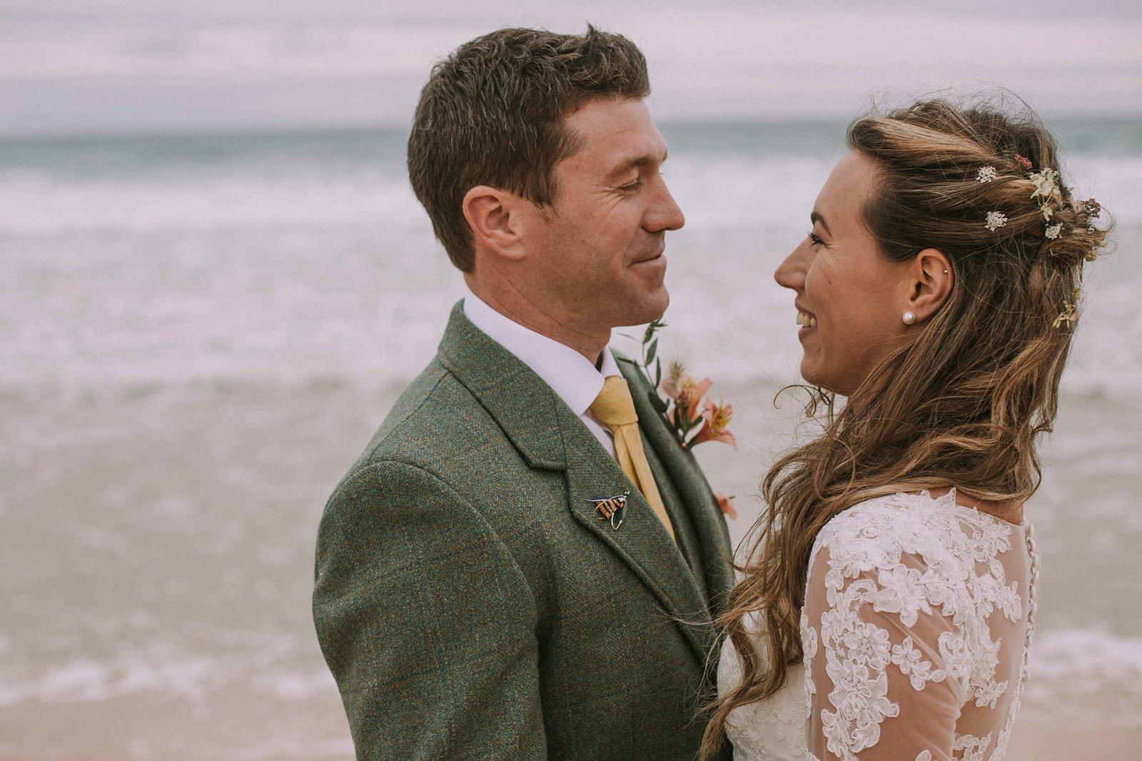 outer hebrides wedding photos