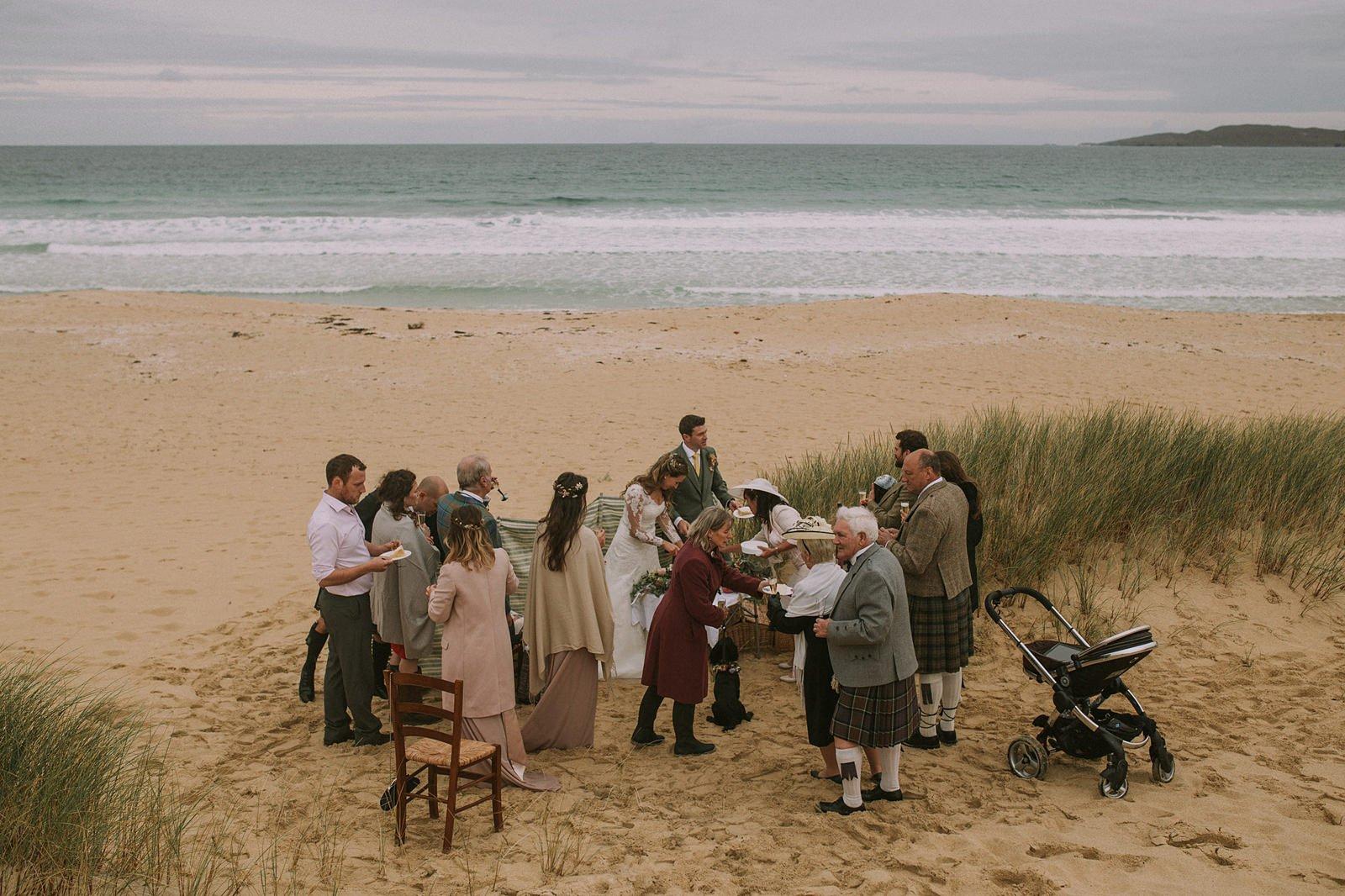 beach isle wedding scotland