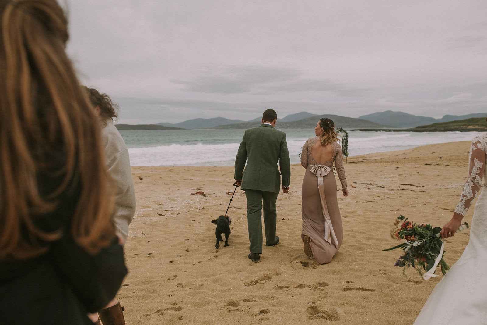 harris scarista beach wedding
