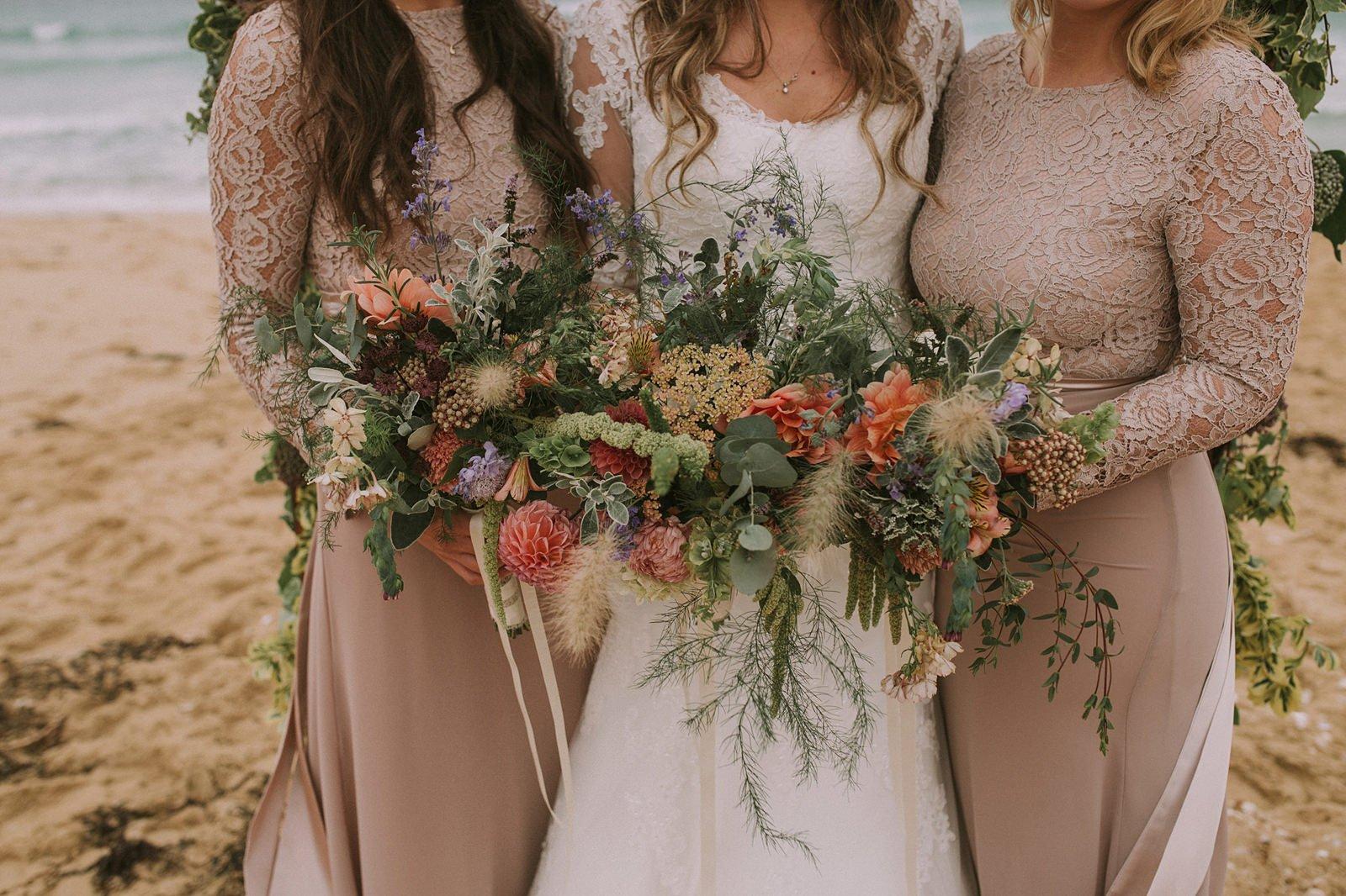 rustic wedding flowers scotland