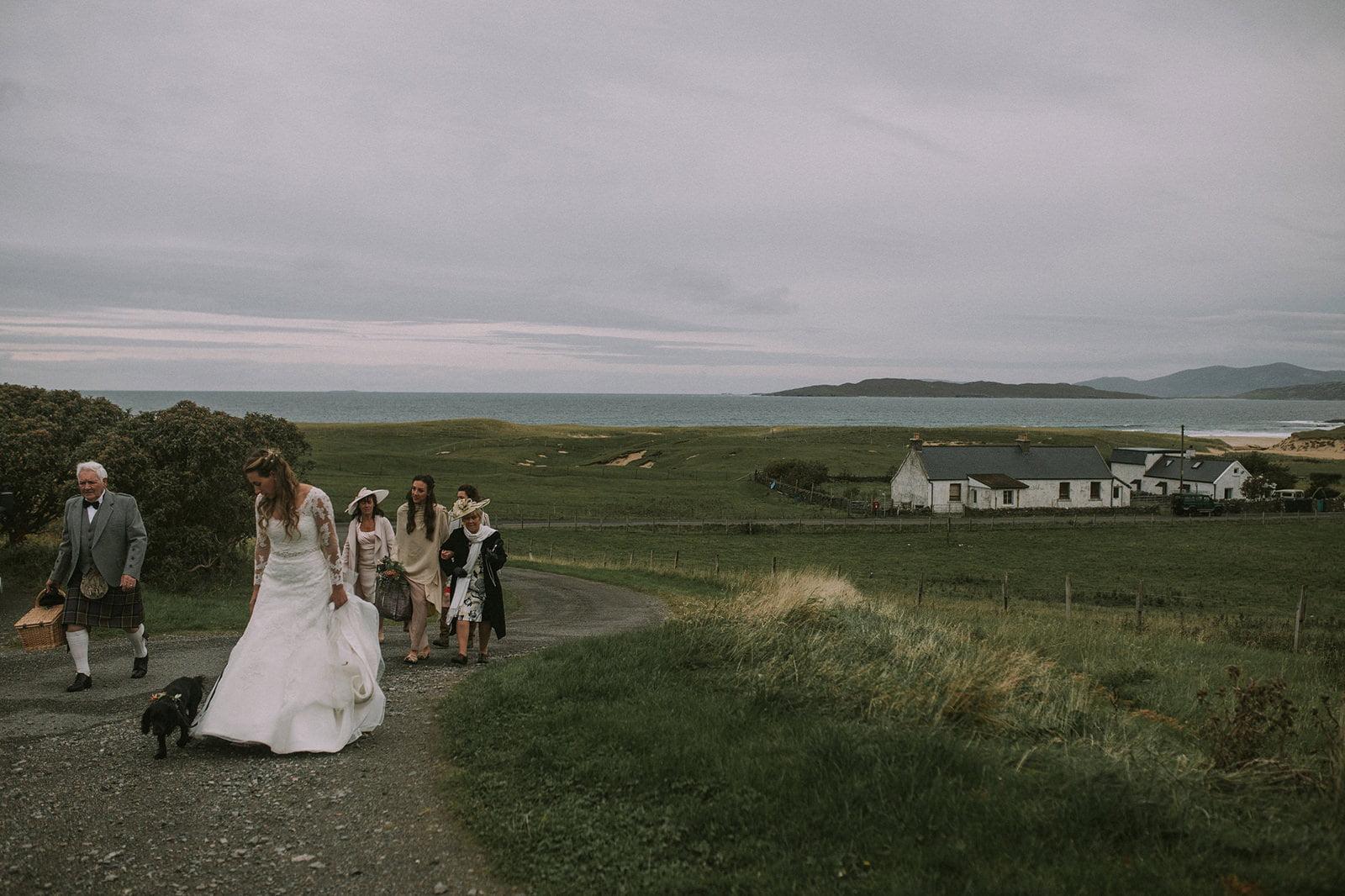 leverburgh wedding photos