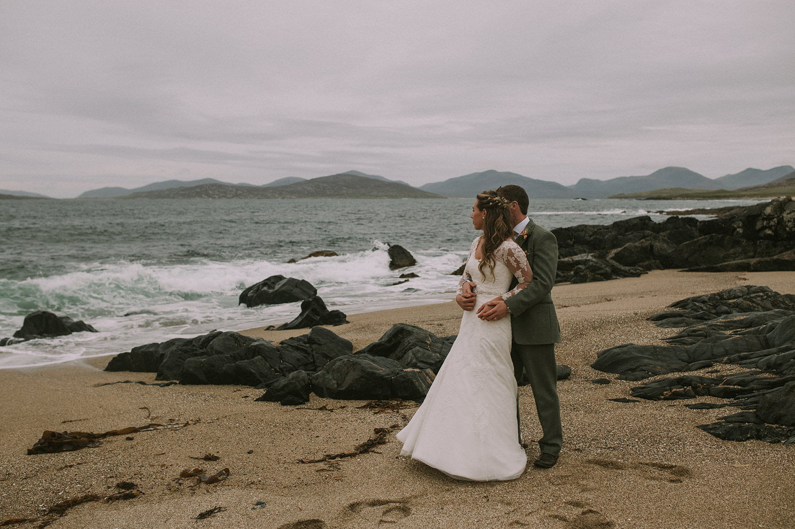 harris outer hebrides wedding