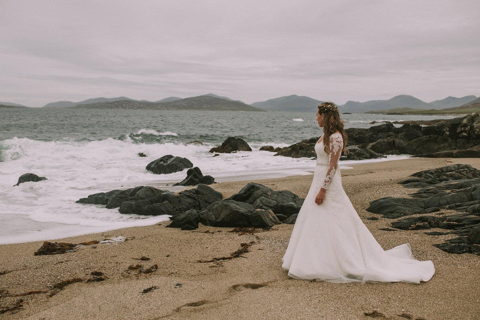 western isles hebrides wedding