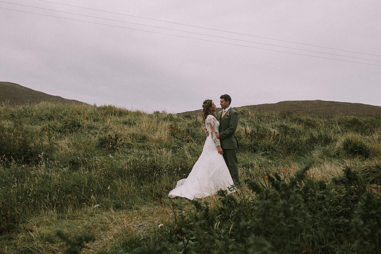artistic wedding photography isle harris
