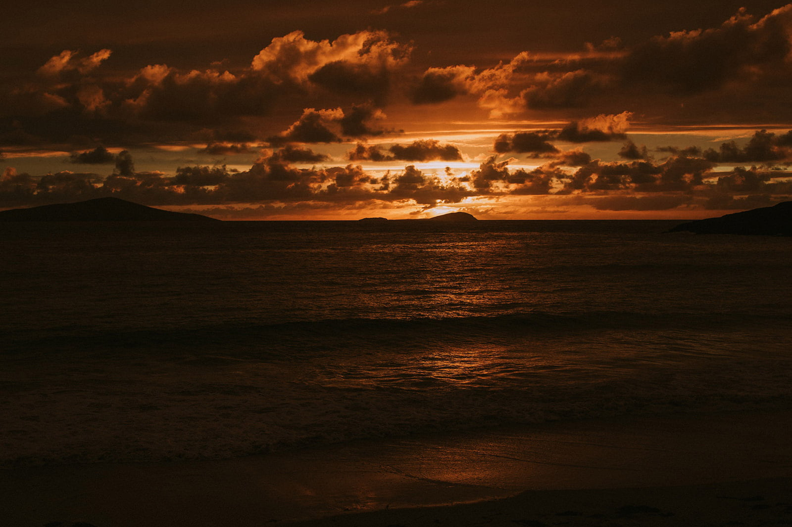 isle of harris sunset