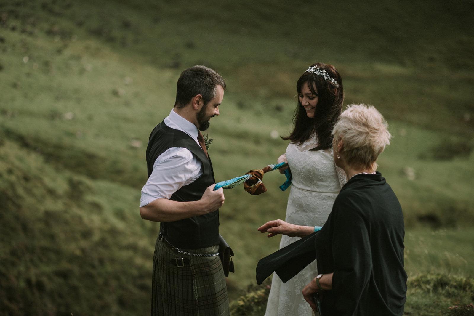 handfasting elopement