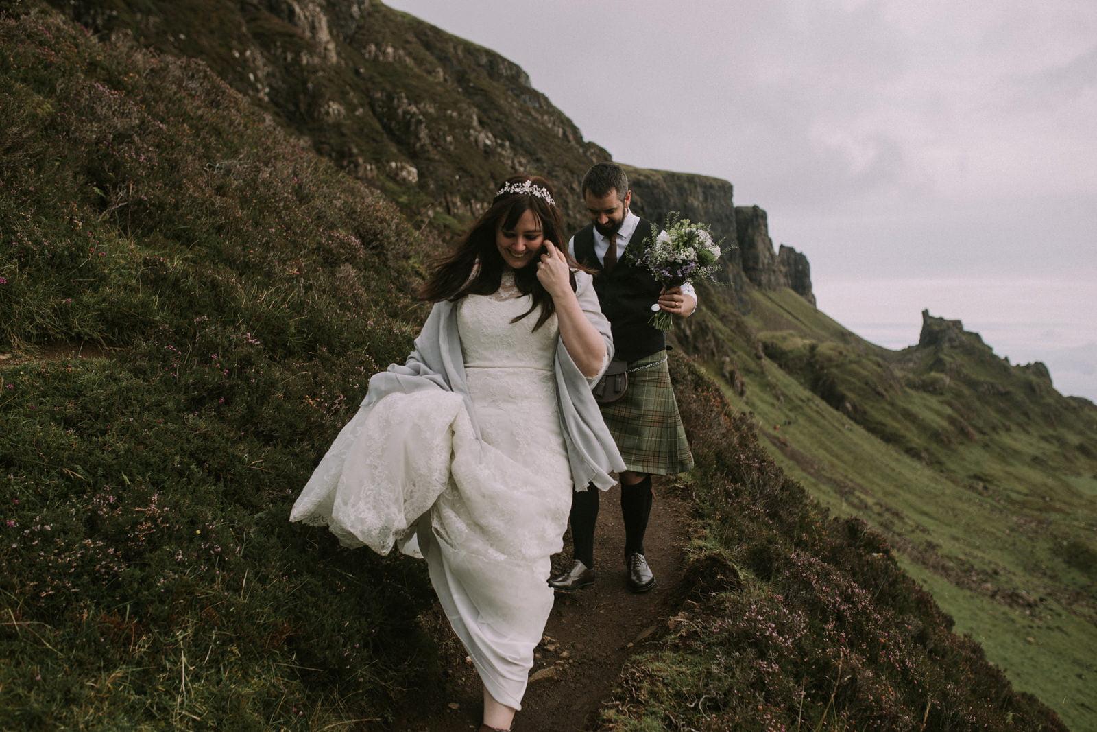isle of skye elopement photos