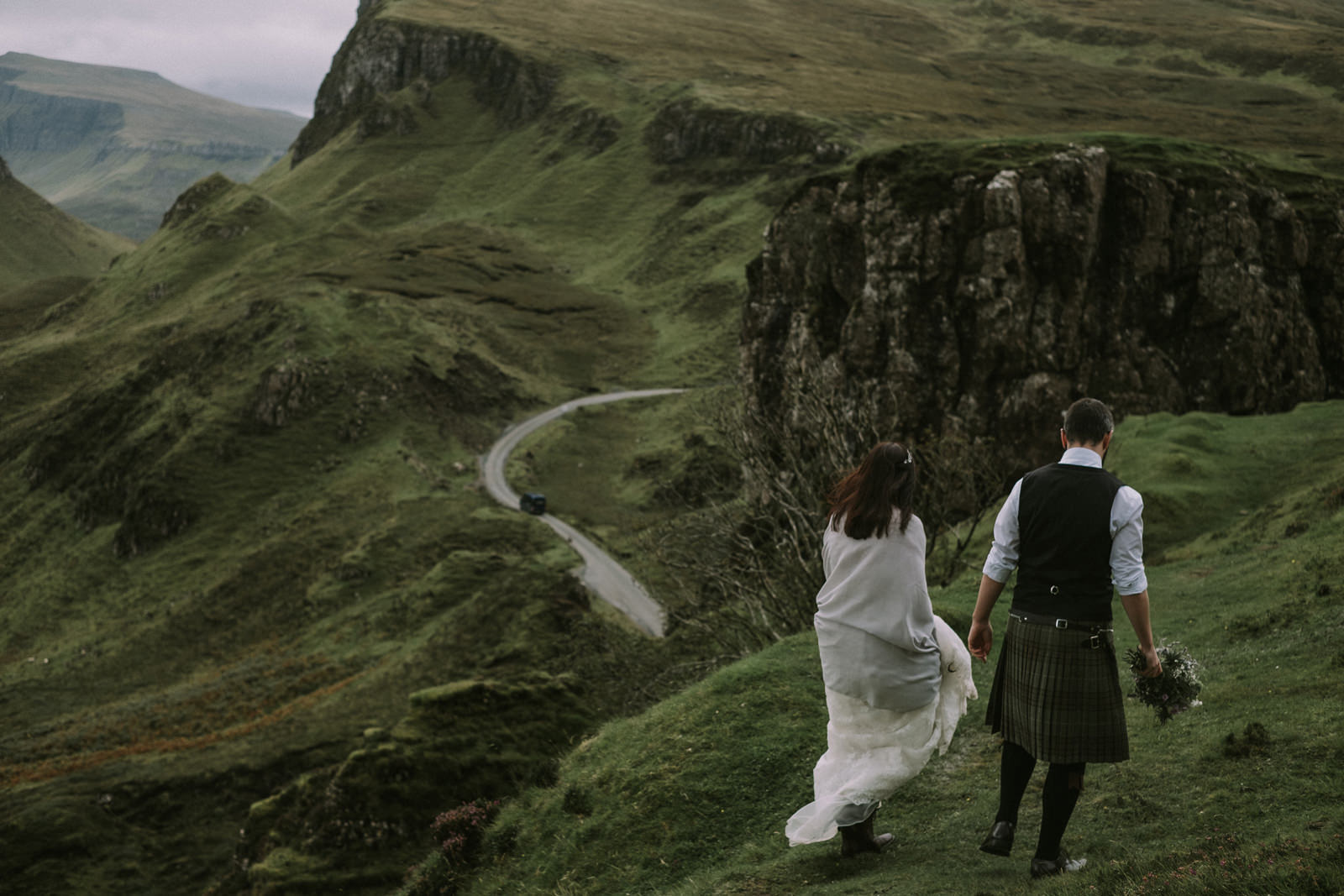 skye elopement photos