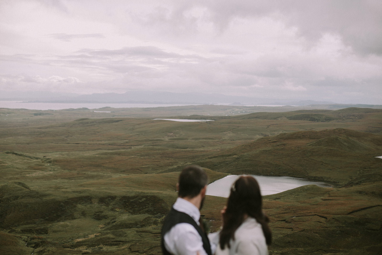 creative isle of skye wedding photography