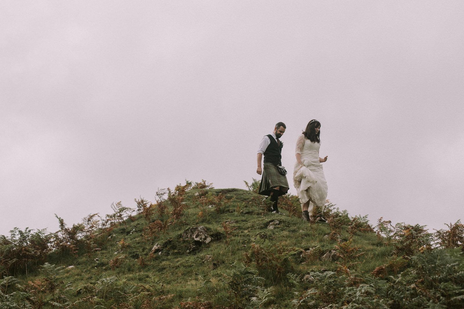 fairy glen skye wedding