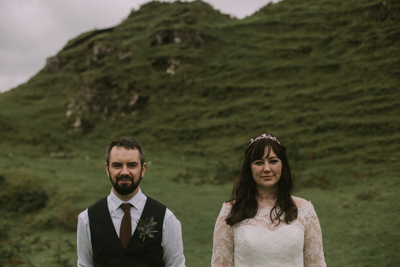 iisle of skye fairy glen wedding