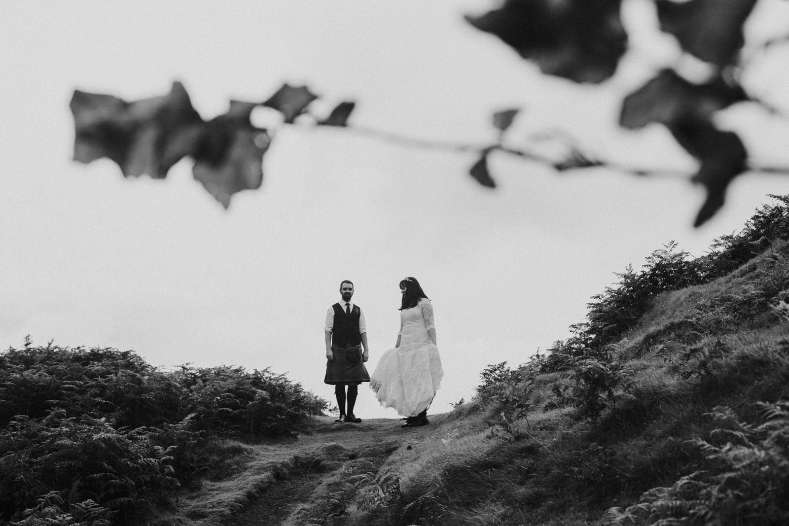 isle of skye fairy glen elopement