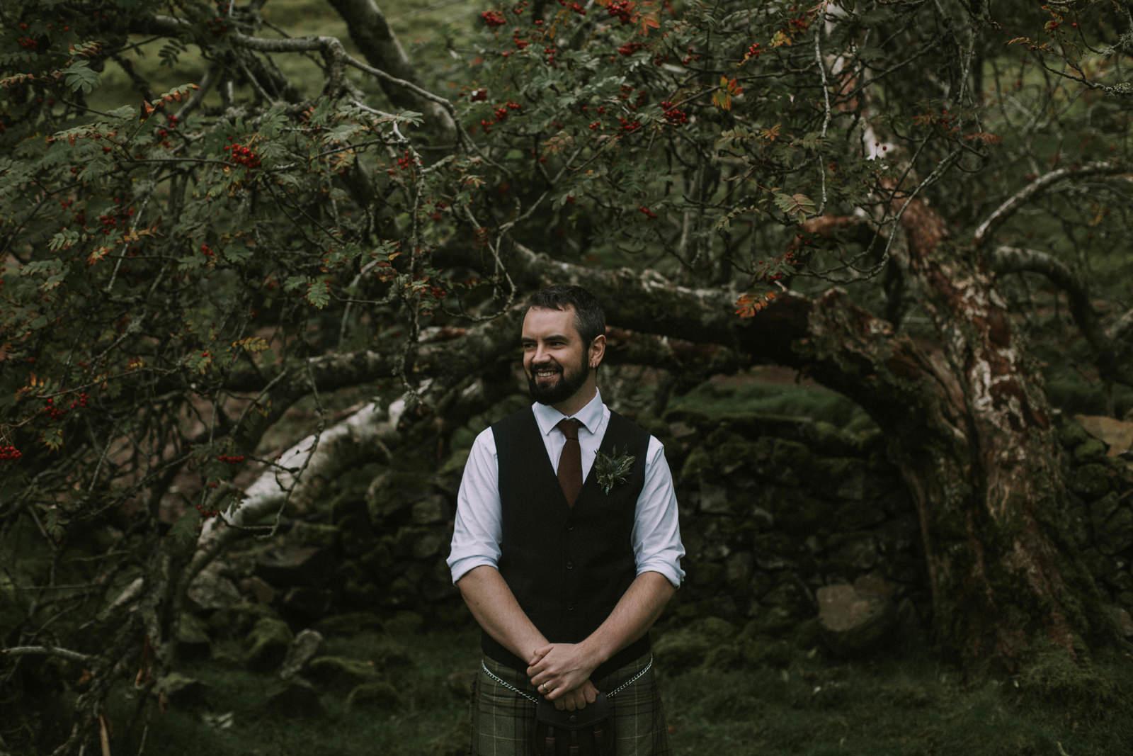 fairy glen skye wedding photography
