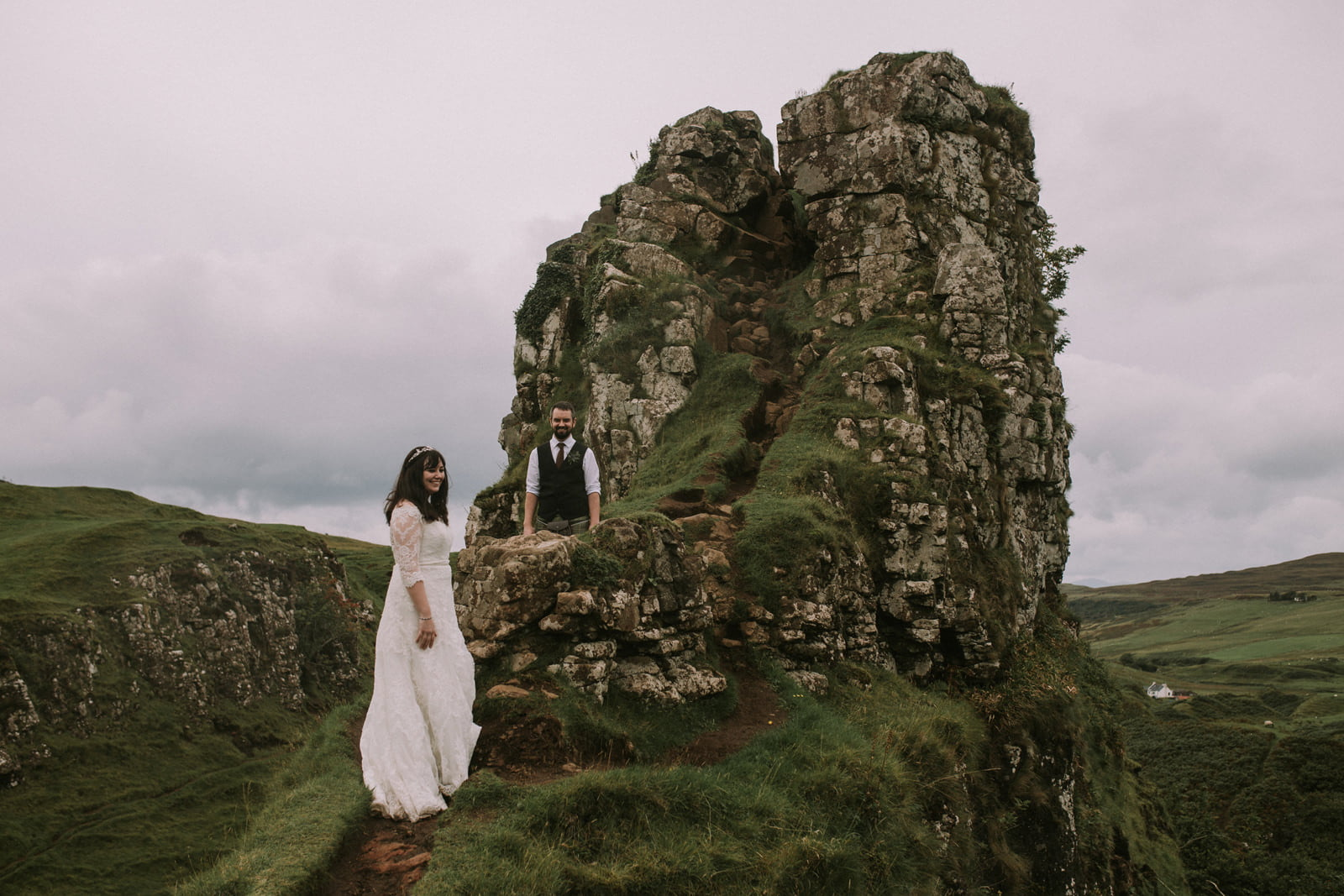 fairy glen skye elopement photography