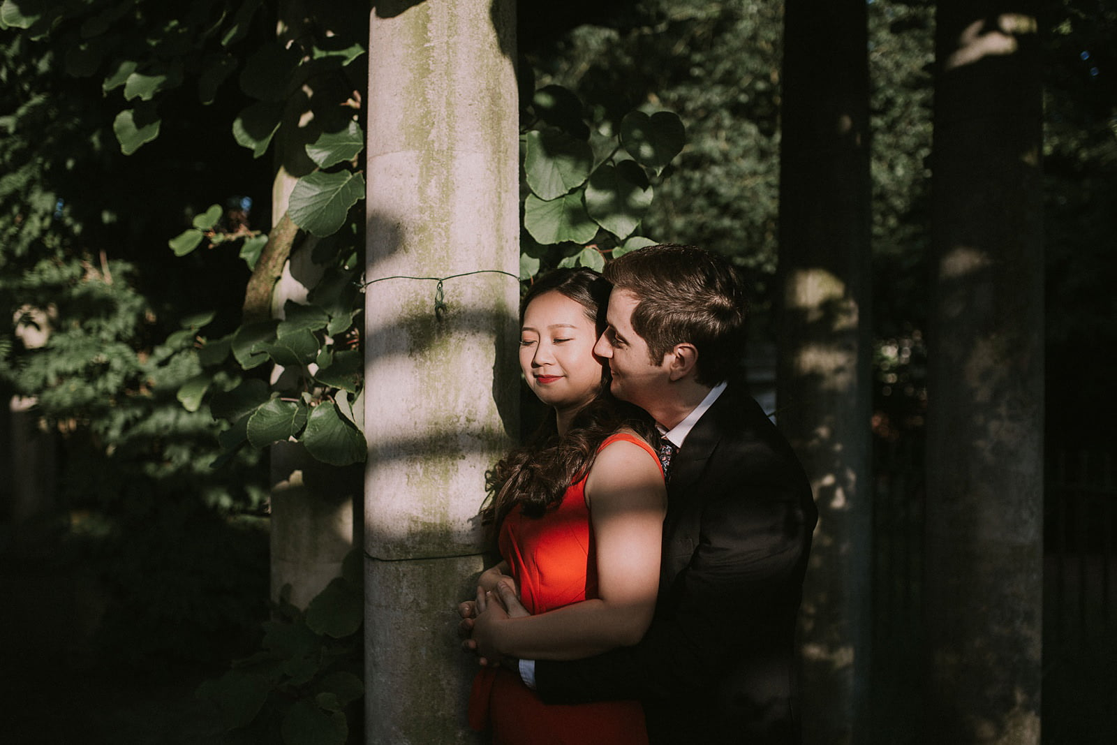 hampstead heath hill garden pergola wedding