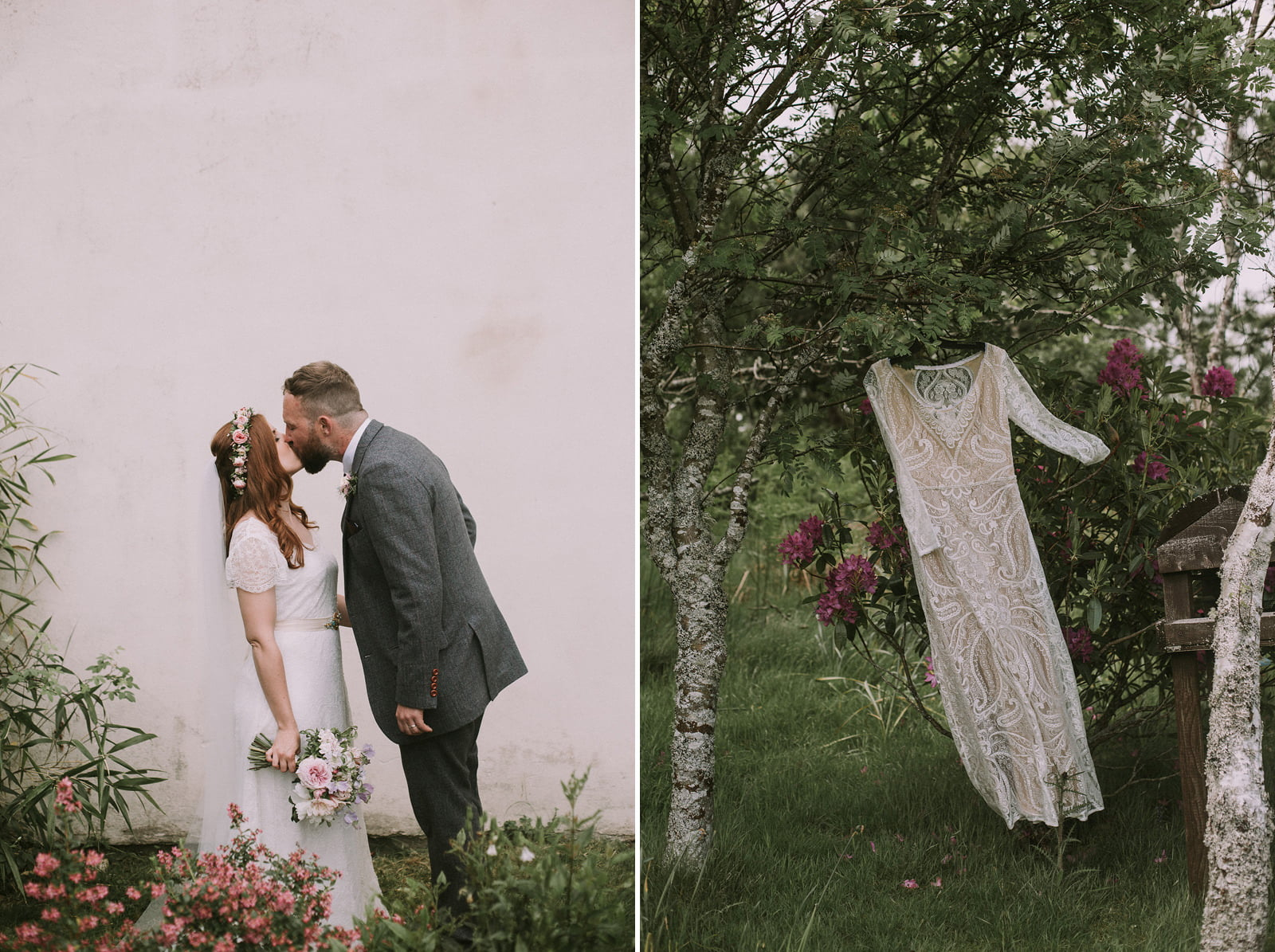 boho wedding photography scotland