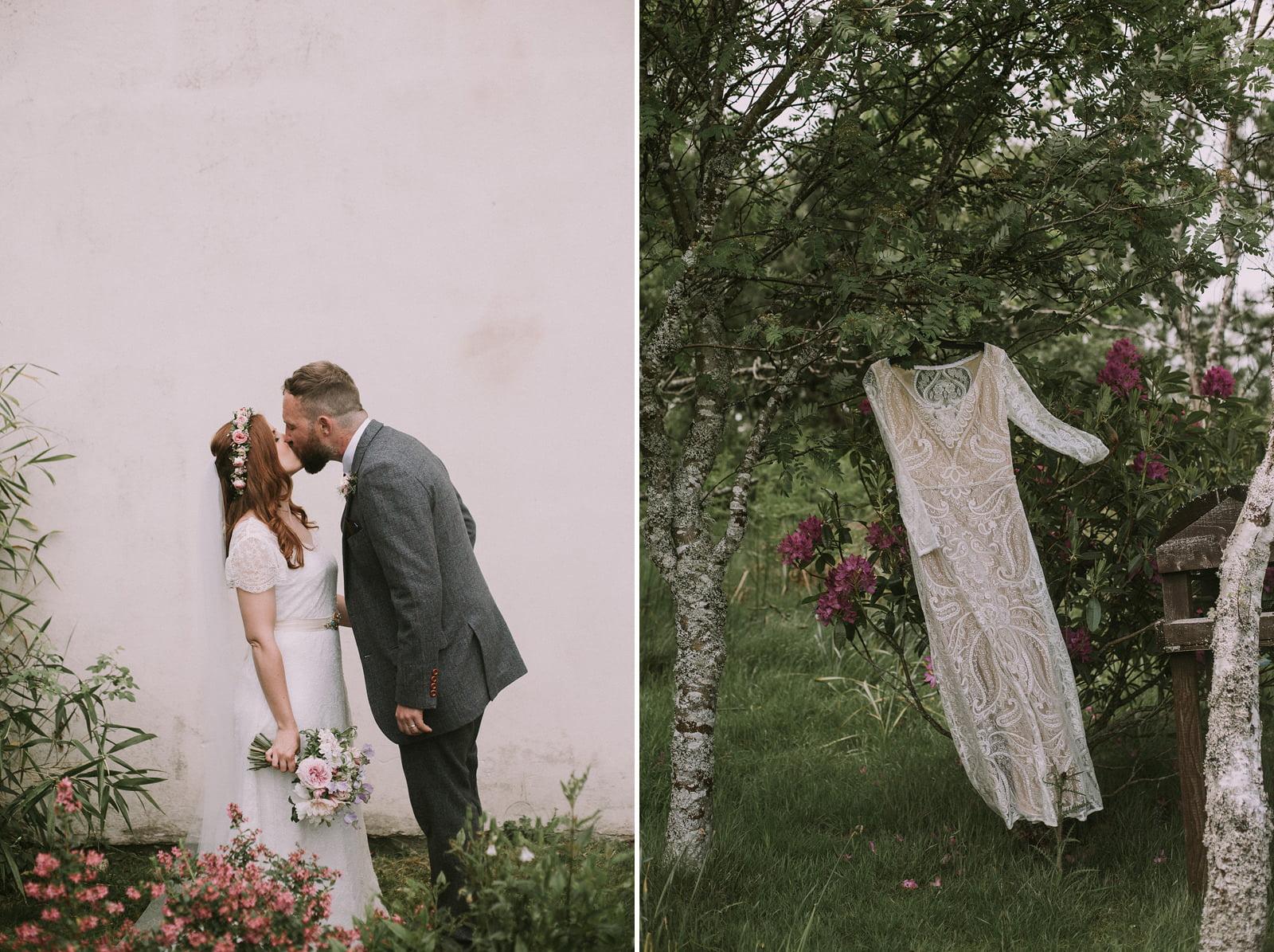 boho wedding photography scotland