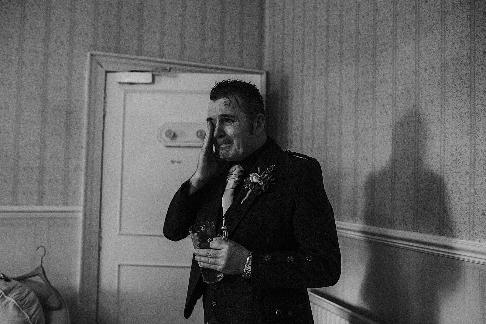 emotional wedding photography scotland
