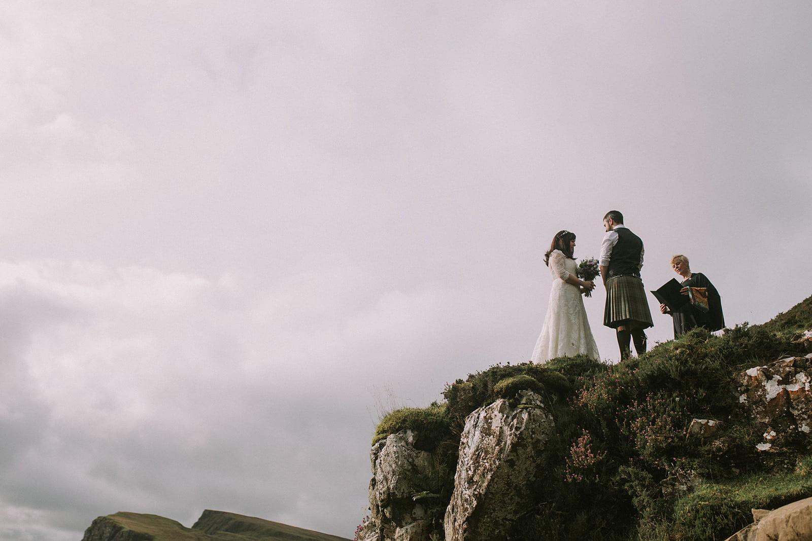 elopement photographer isle of skye