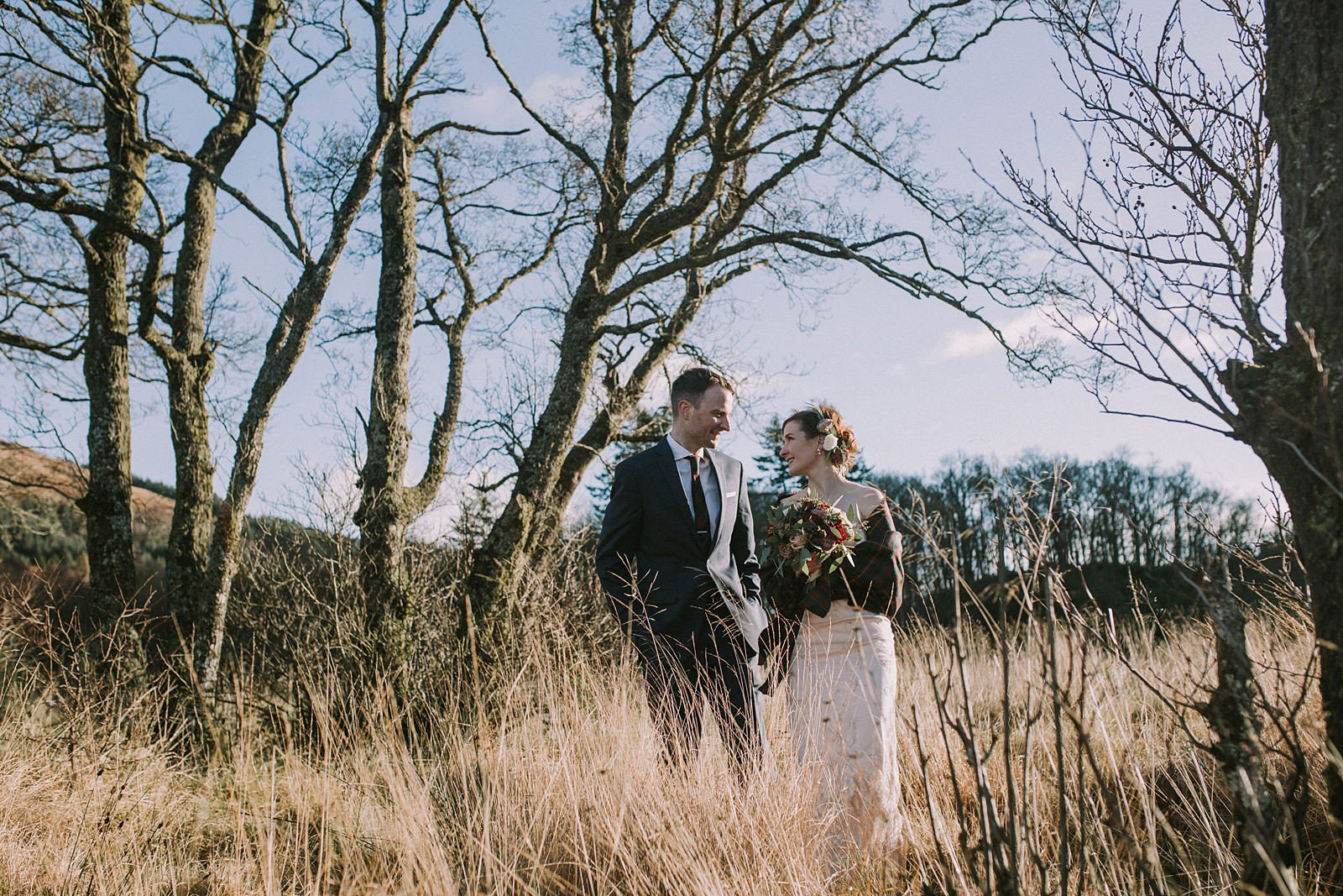 loch chon wedding photographer