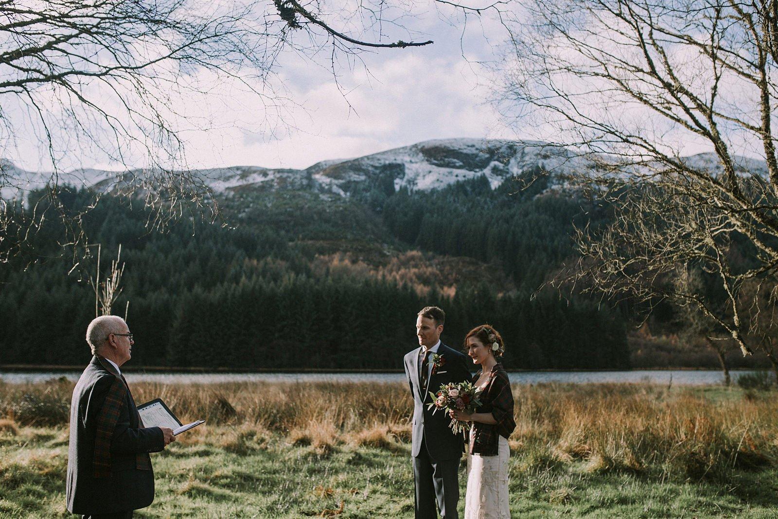 loch chon elopement photographer