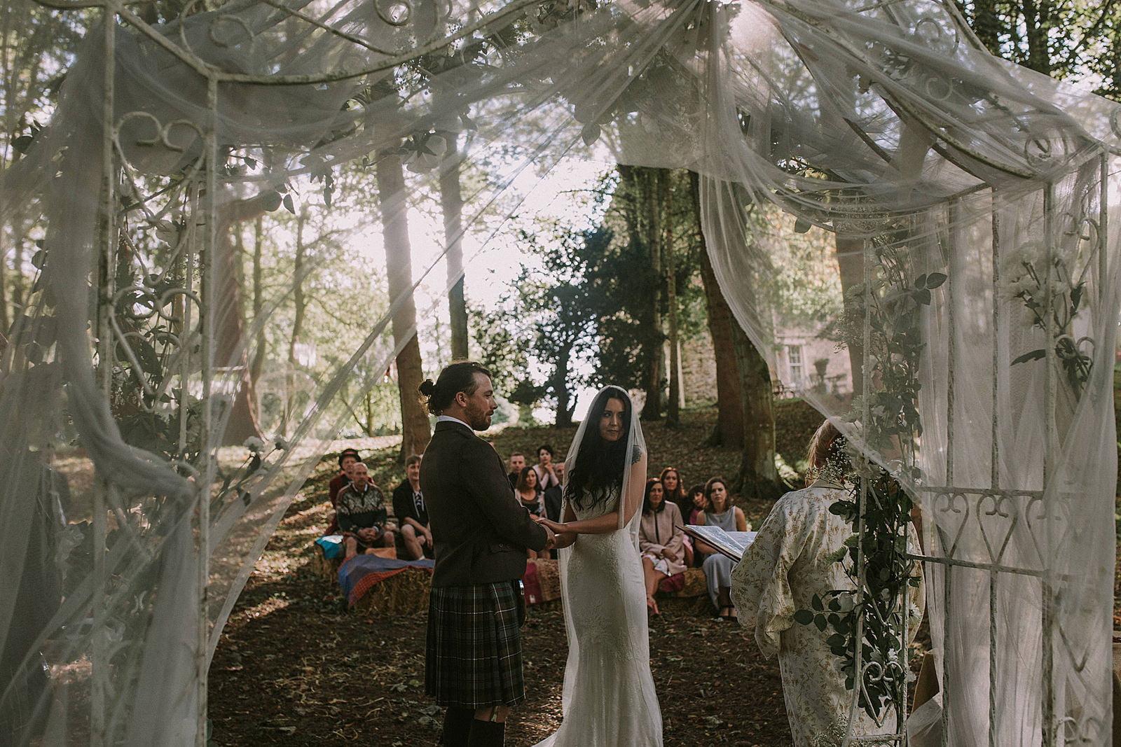 woodland wedding photographer scotland