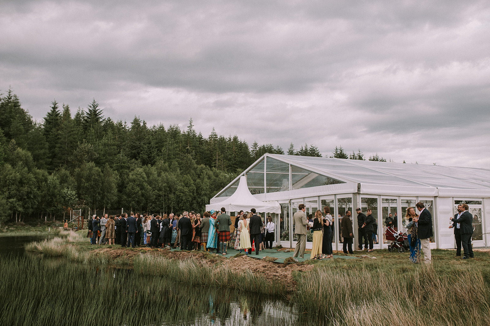 scottish highlands wedding photography