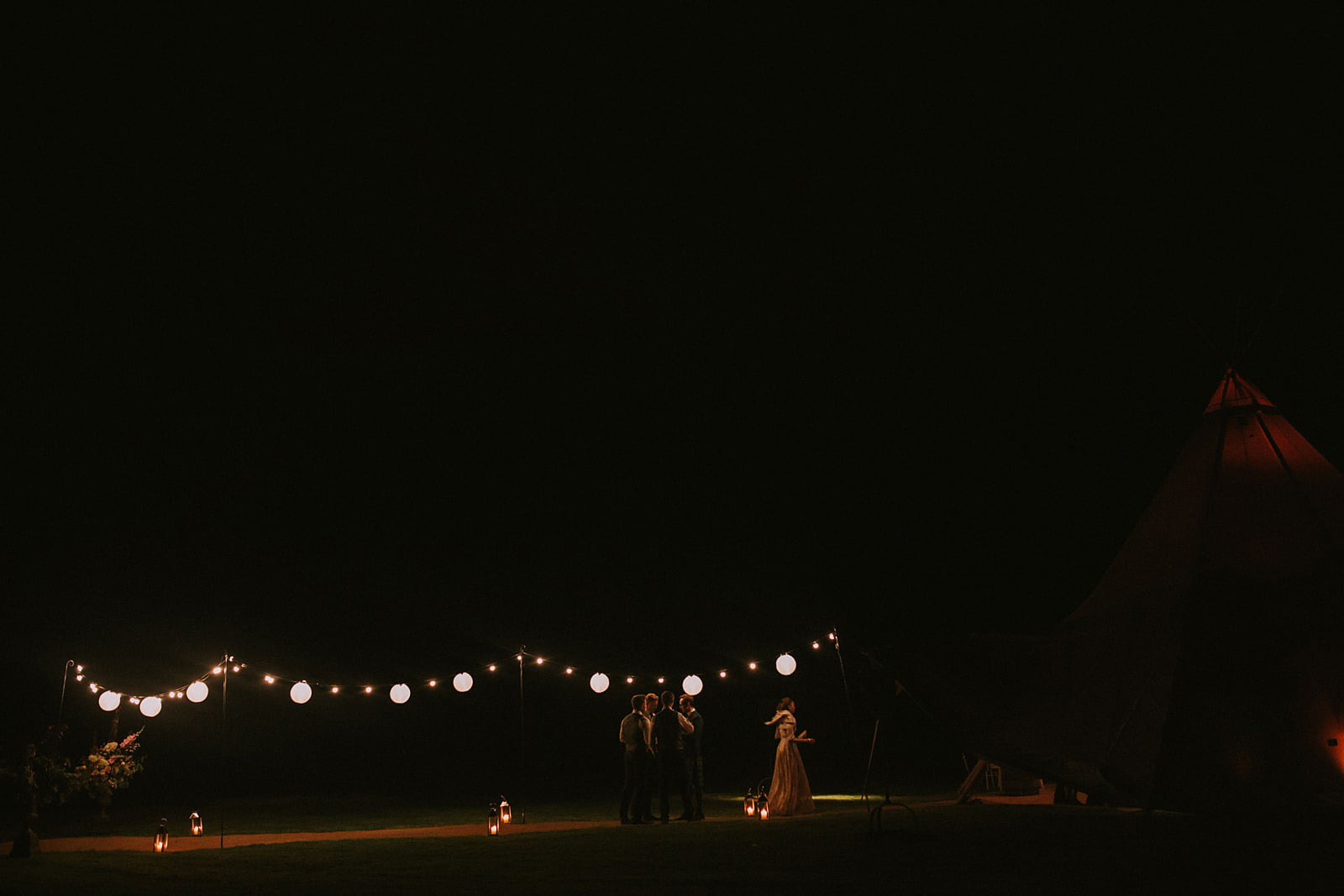teepee wedding inverness