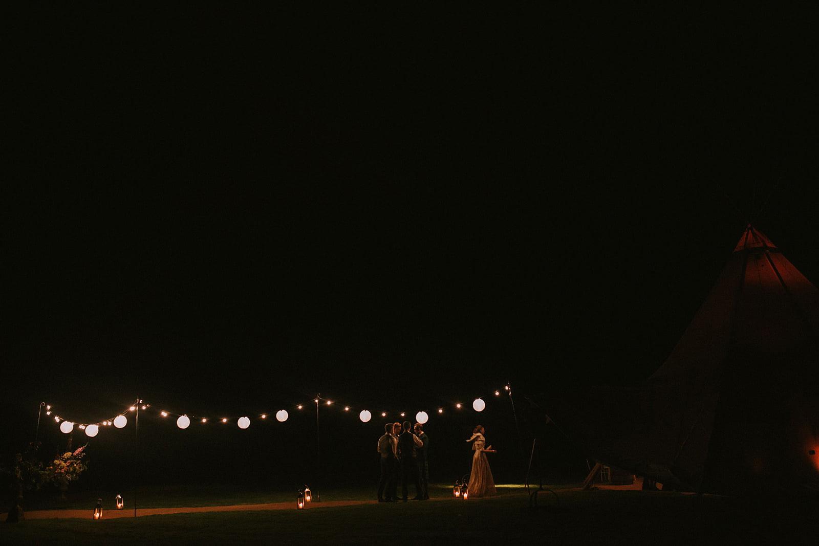 teepee wedding inverness