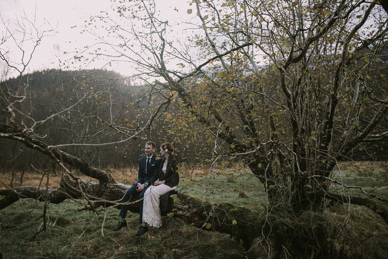 wild elopement scotland photography