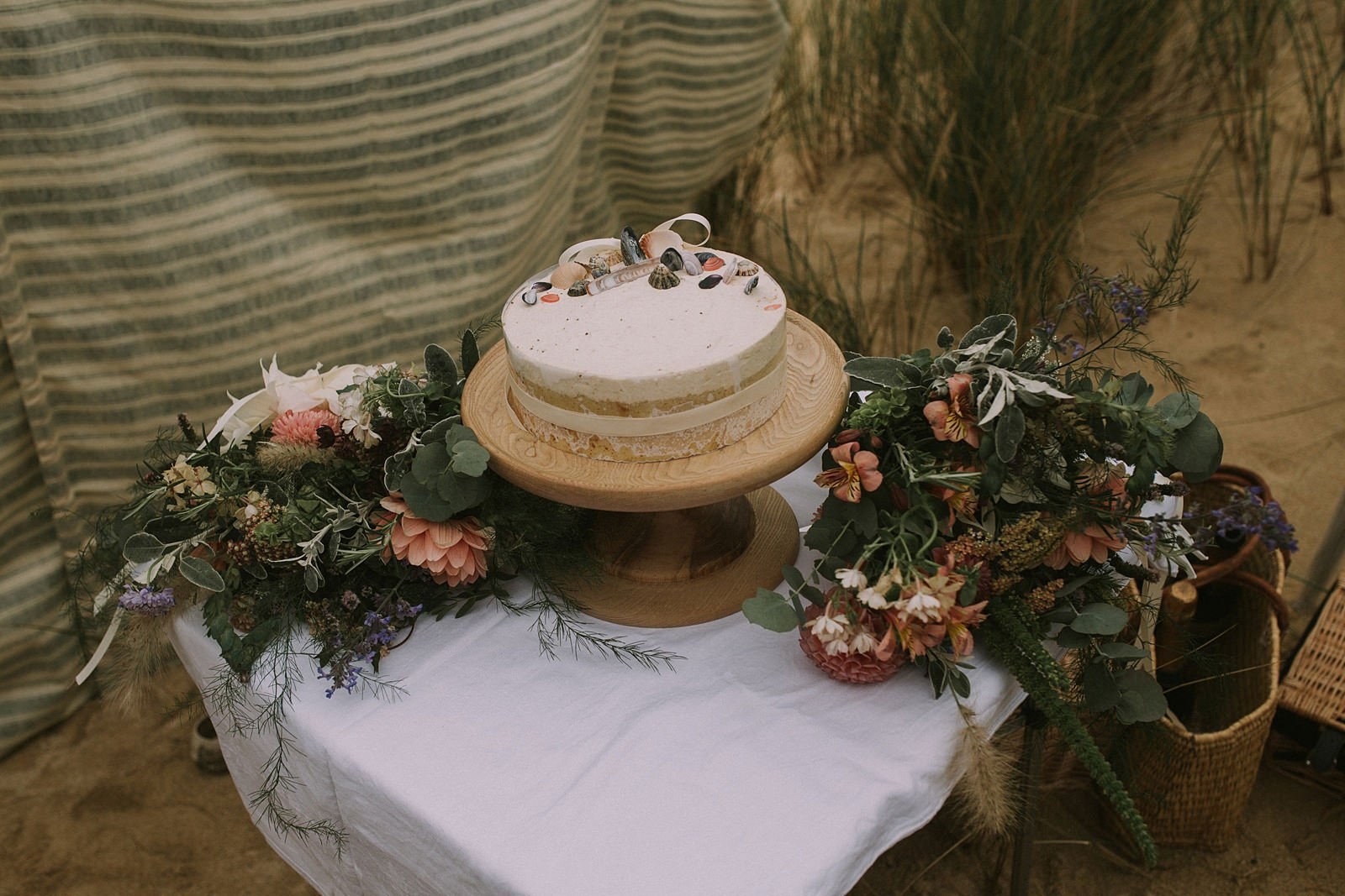 rustic homemade wedding