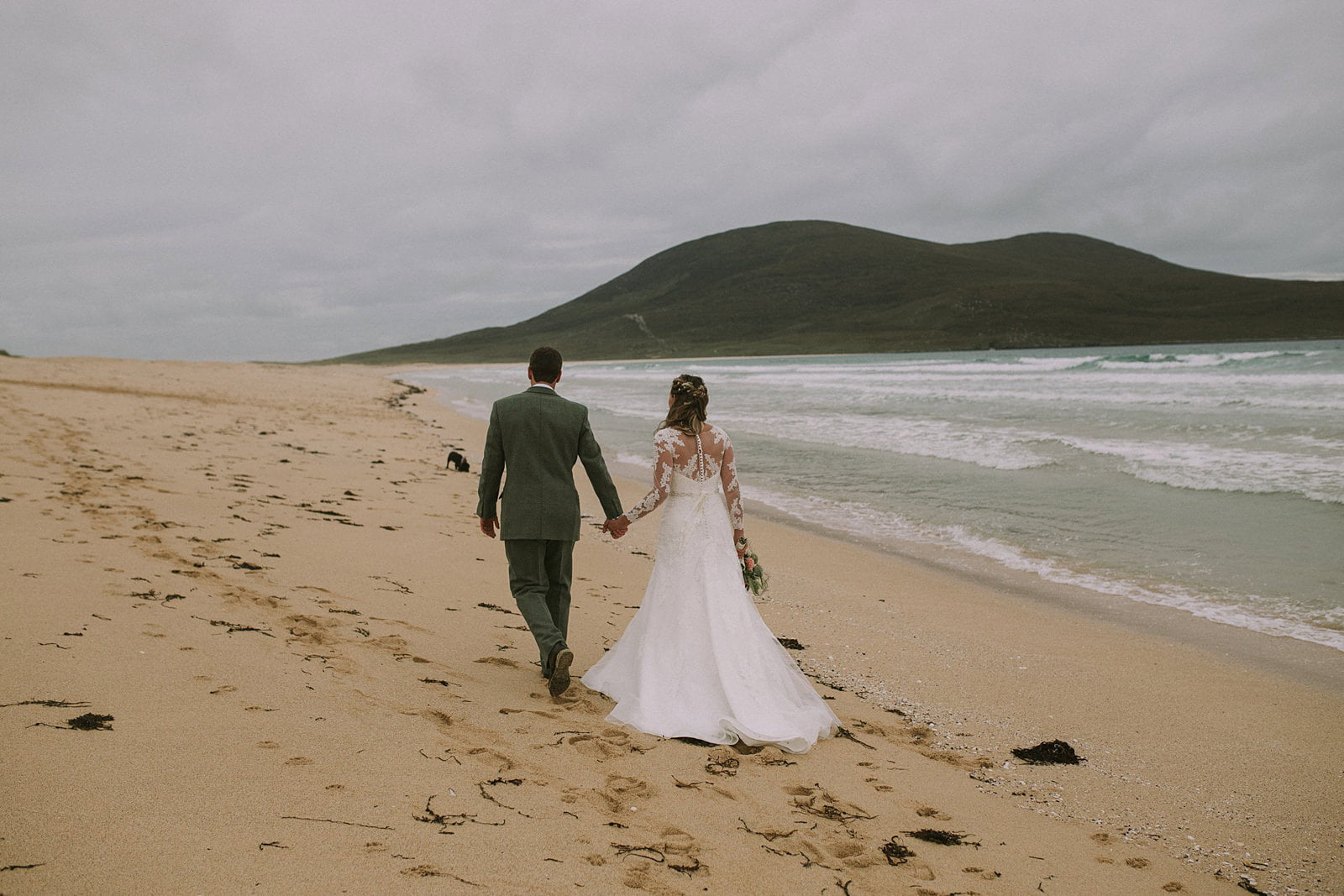 scarista beach wedding harris